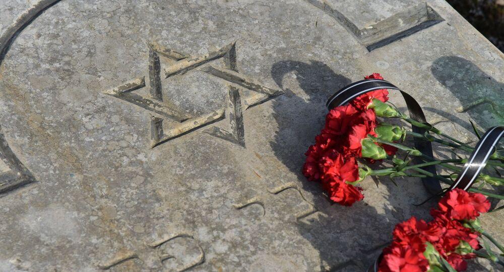 Monumento a las víctimas del Holocausto (imagen referencial)