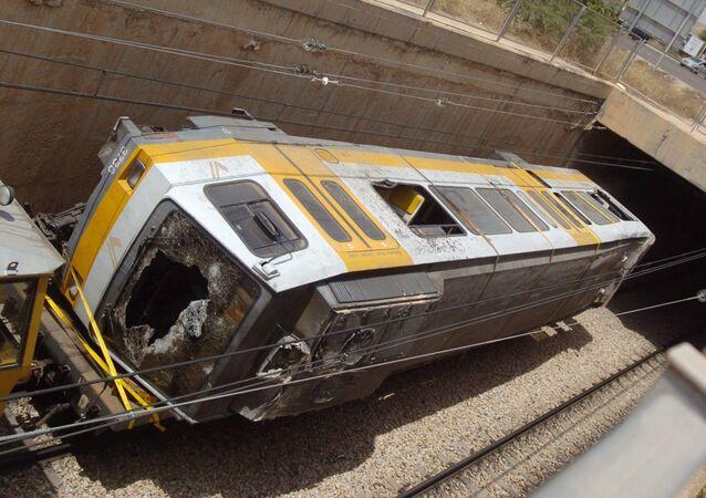 Accidente en el metro de Valencia (España) en 2006