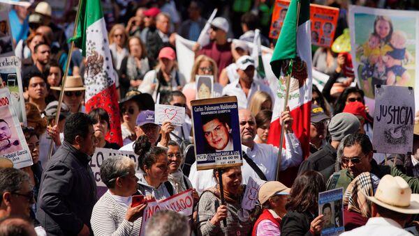 Caminata por justicia y paz en México - Sputnik Mundo