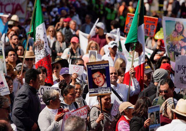 Caminata por justicia y paz en México