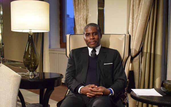 Teodoro Nguema Obiang Mangue, vicepresidente de Guinea Ecuatorial - Sputnik Mundo