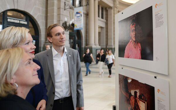 Muestra fotográfica del concurso Andréi Stenin en Buenos Aires - Sputnik Mundo