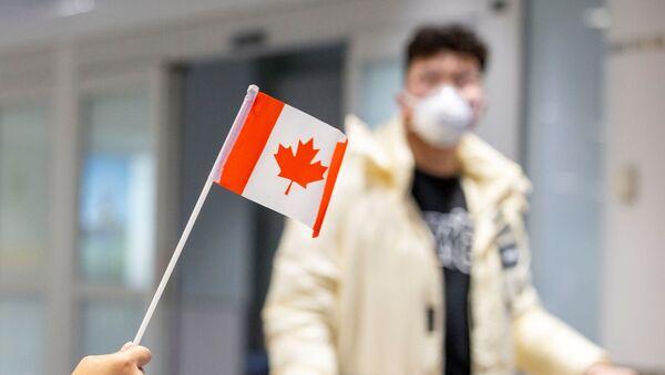 Aeropuerto en Canadá - Sputnik Mundo