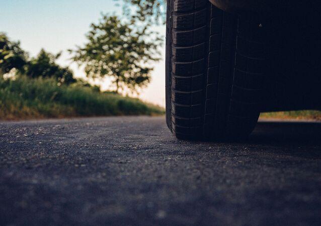 Una rueda del coche (imagen referencial)