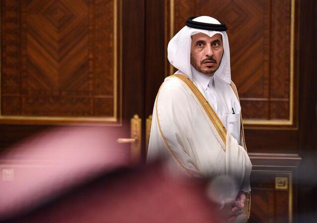 Abdullah bin Nasser Thani, el primer ministro de Catar