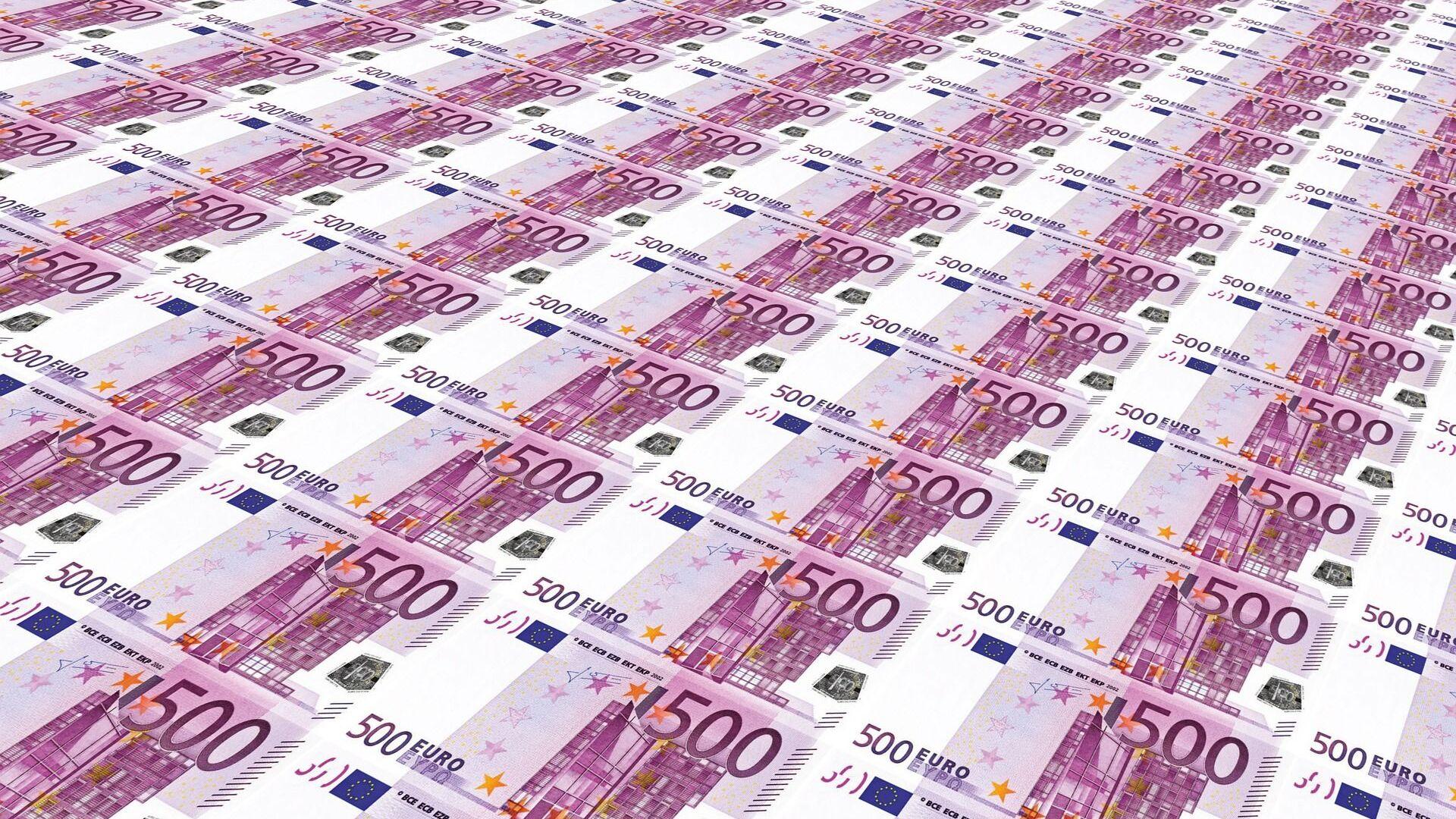 Euros (imagen referencial) - Sputnik Mundo, 1920, 27.07.2021