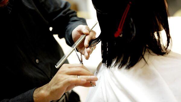 Corte de cabello, referencial - Sputnik Mundo