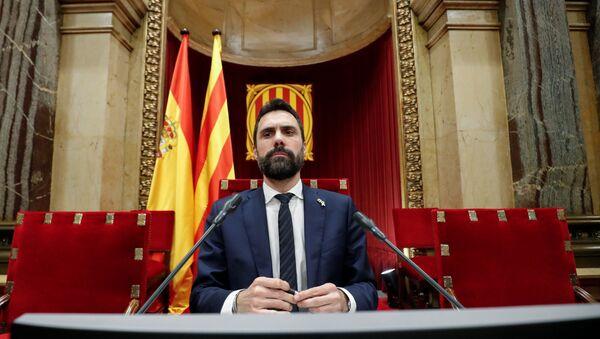 Roger Torrent, el presidente del Parlamento catalán - Sputnik Mundo