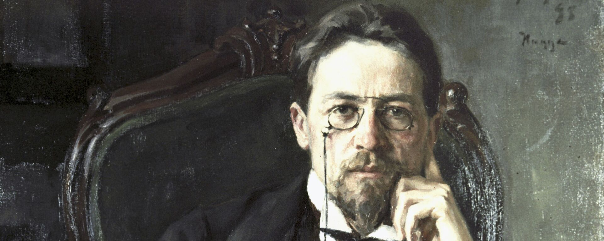 Retrato del dramaturgo ruso Antón Chéjov - Sputnik Mundo, 1920, 28.01.2020