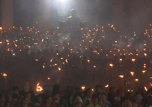 La Habana se ilumina con la Marcha de las Antorchas en honor a José Martí