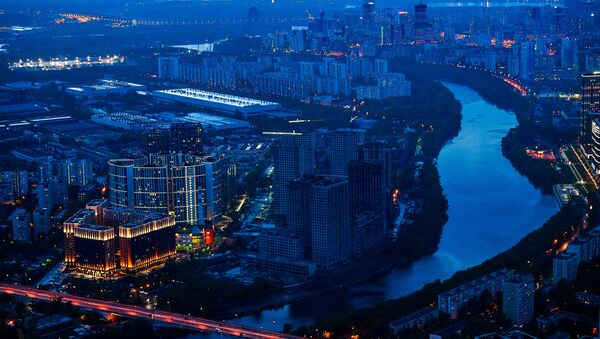 La vista general de Moscú desde el rascacielos Oko - Sputnik Mundo
