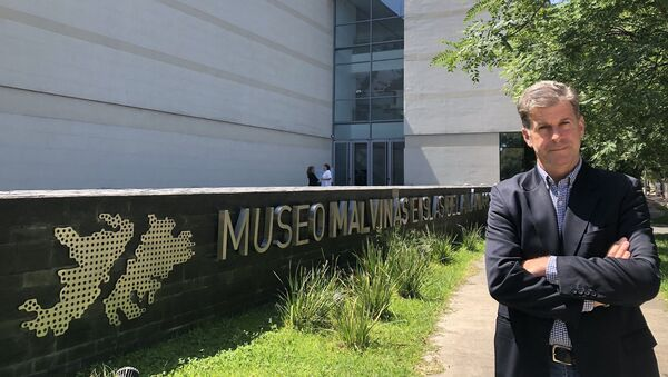 Edgardo Esteban, director del Museo Malvinas e Islas del Atlántico Sur - Sputnik Mundo