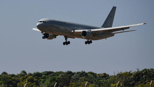 Avión de la Fuerza Aérea Brasileña  - Sputnik Mundo