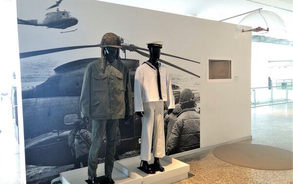 Uniformes militares exhibidos en Museo Malvinas - Sputnik Mundo