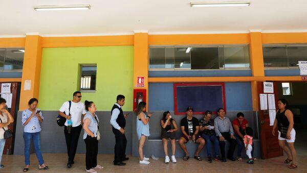 Elecciones legislativas en Perú - Sputnik Mundo