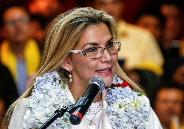 Janine Áñez, presidenta de facto de Bolivia