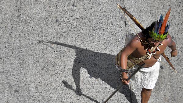 Un indígena colombiano (imagen referencial) - Sputnik Mundo