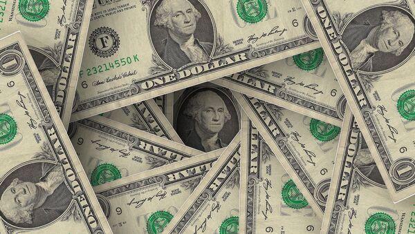Billetes de dólares - Sputnik Mundo