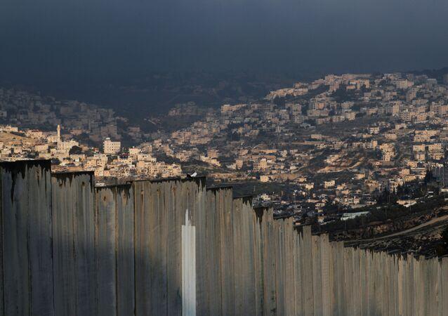 La vista general del Jerusalén de este