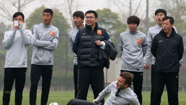 El equipo de fútbol de Wuhan, El Wuhan Zall - Sputnik Mundo