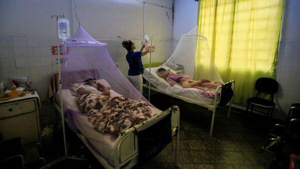 Las personas afectadas por dengue en Paraguay - Sputnik Mundo