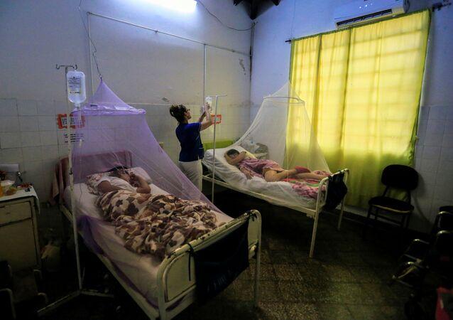 Las personas afectadas por dengue en Paraguay