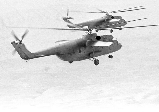 Los helicópteros Mi-6