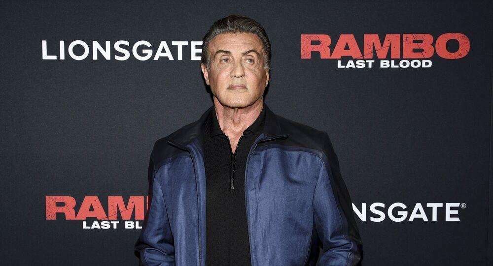 Sylvester Stallone, actor estadounidense
