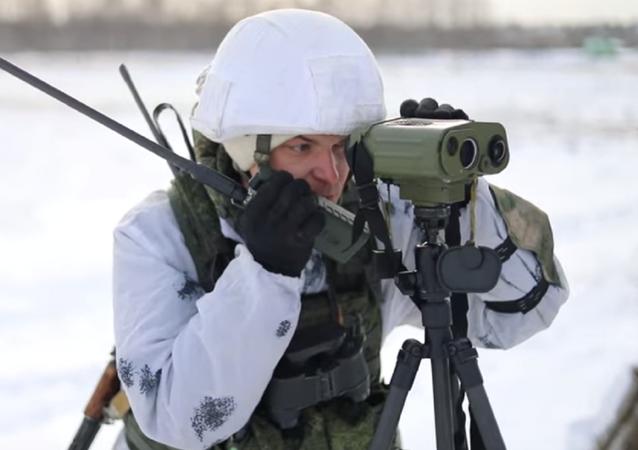Así ponen a prueba los paracaidistas militares rusos su precisión de tiro