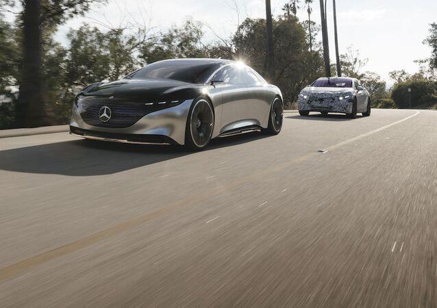 El Mercedes-Benz Vision EQS