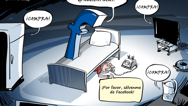 Facebook se extiende por tu vida privada - Sputnik Mundo