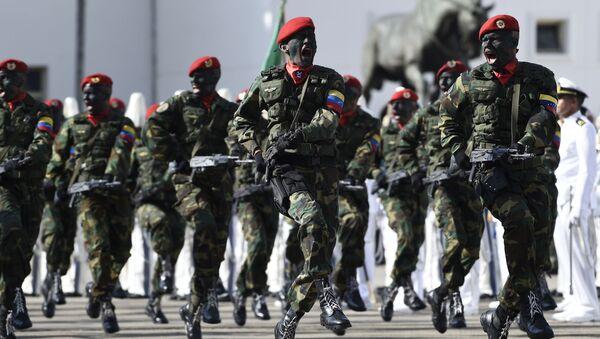 Miembros de la Fuerza Armada Nacional Bolivariana - Sputnik Mundo