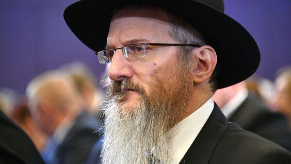 Berel Lazar, gran rabino de toda Rusia - Sputnik Mundo