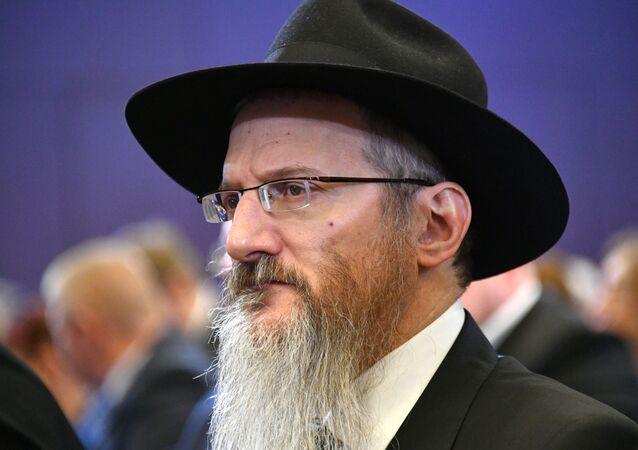Berel Lazar, gran rabino de toda Rusia