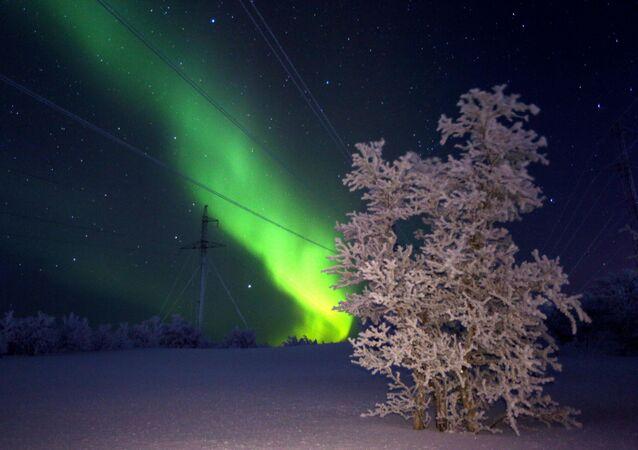Como en un cuento: así se ven las auroras boreales en Rusia