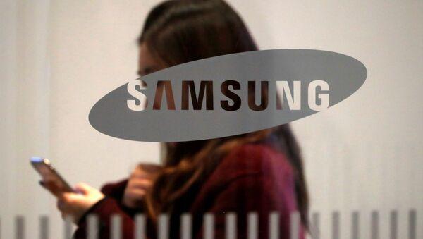 El logo de Samsung - Sputnik Mundo