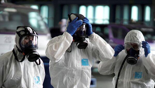 Equipo de alerta epidemiológica (imagen referencial) - Sputnik Mundo