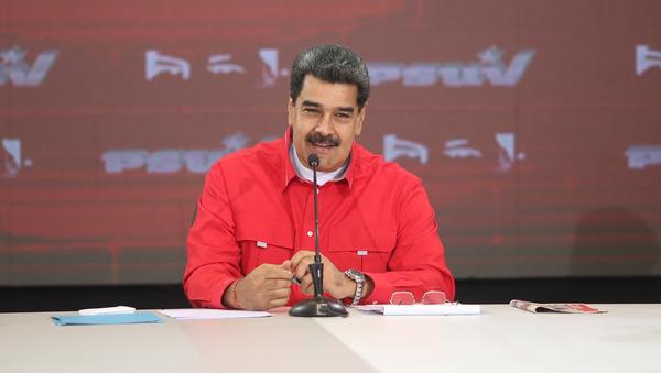 Nicolás Maduro, presidente de Venezuela, participa en un congreso del PSUV - Sputnik Mundo