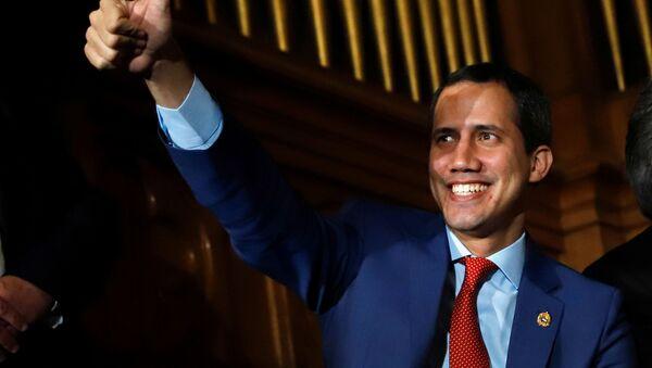 Líder de la oposición venezolana, Juan Guaidó - Sputnik Mundo