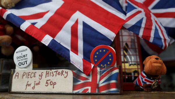 Banderas del Reino Unido - Sputnik Mundo