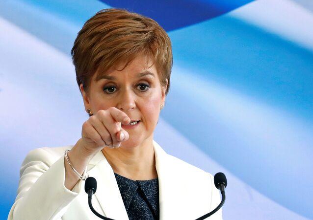 Nicola Sturgeon, jefa del Gobierno autonómico de Escocia