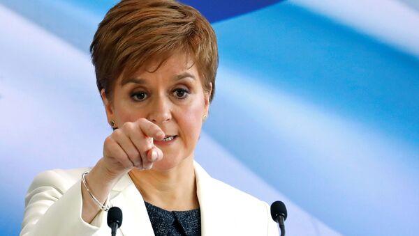 Nicola Sturgeon, jefa del Gobierno autonómico de Escocia - Sputnik Mundo