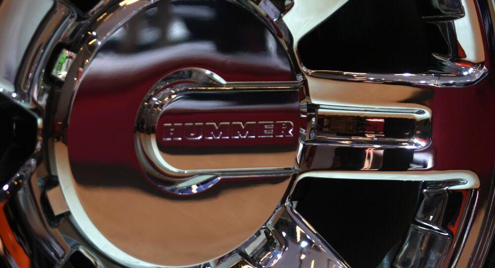El logo de Hummer
