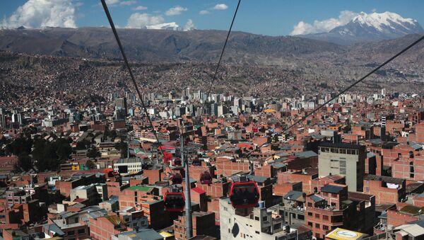 La ciudad de La Paz, Bolivia - Sputnik Mundo