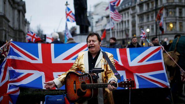 Celebraciones del Brexit en Londres - Sputnik Mundo