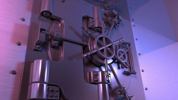 La puerta de una caja fuerte (ilustración) - Sputnik Mundo