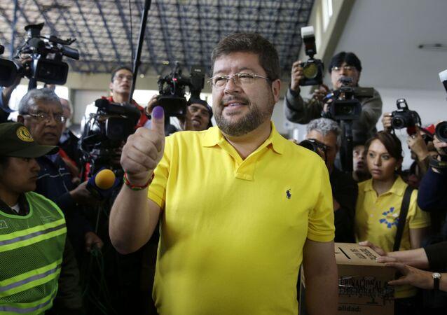 Samuel Doria Medina, empresario boliviano