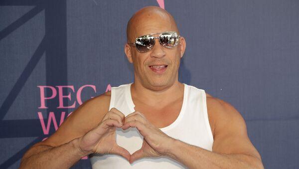 El actor Vin Diesel  - Sputnik Mundo