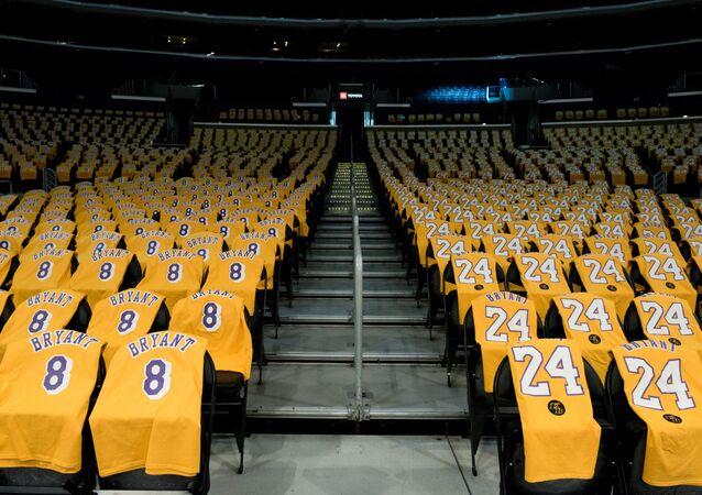 El homenaje póstumo de los Lakers a Kobe Bryant