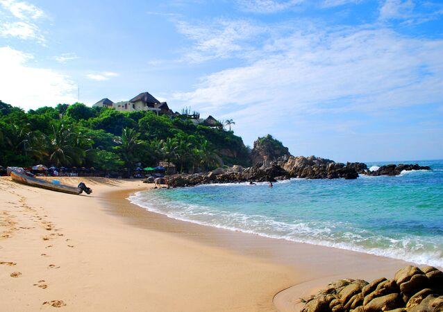 Una playa (imagen referencial)